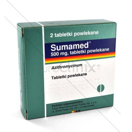 Azytromycyna (Sumamed) 1